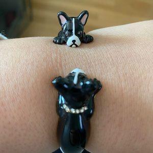 Kate Spade Ma Cherie Antoine Dog Bracelet